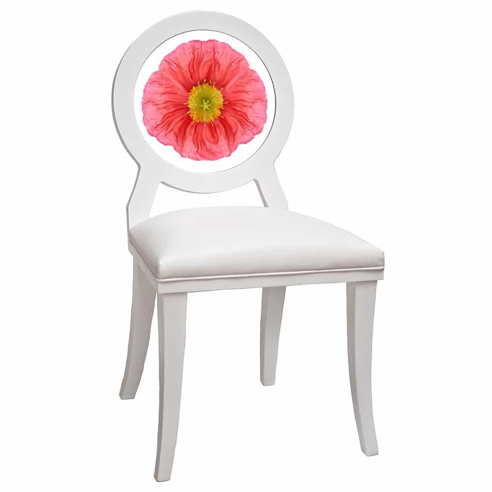 Coral Poppy Floret