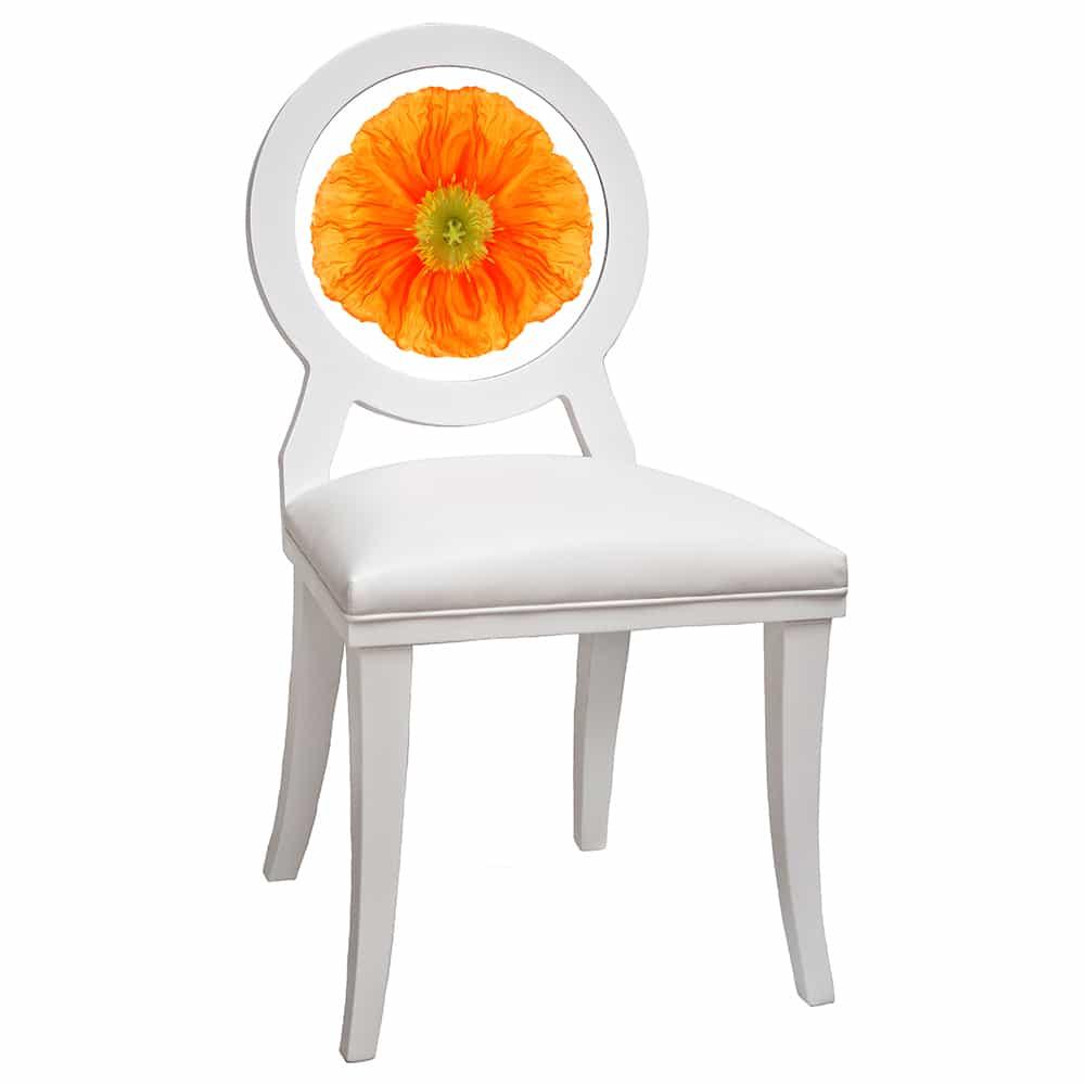 Orange Poppy Floret