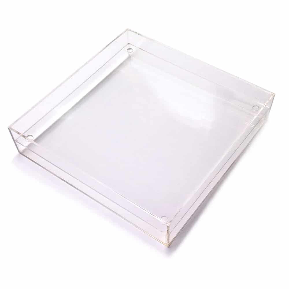 Square False Bottom Tray 20″