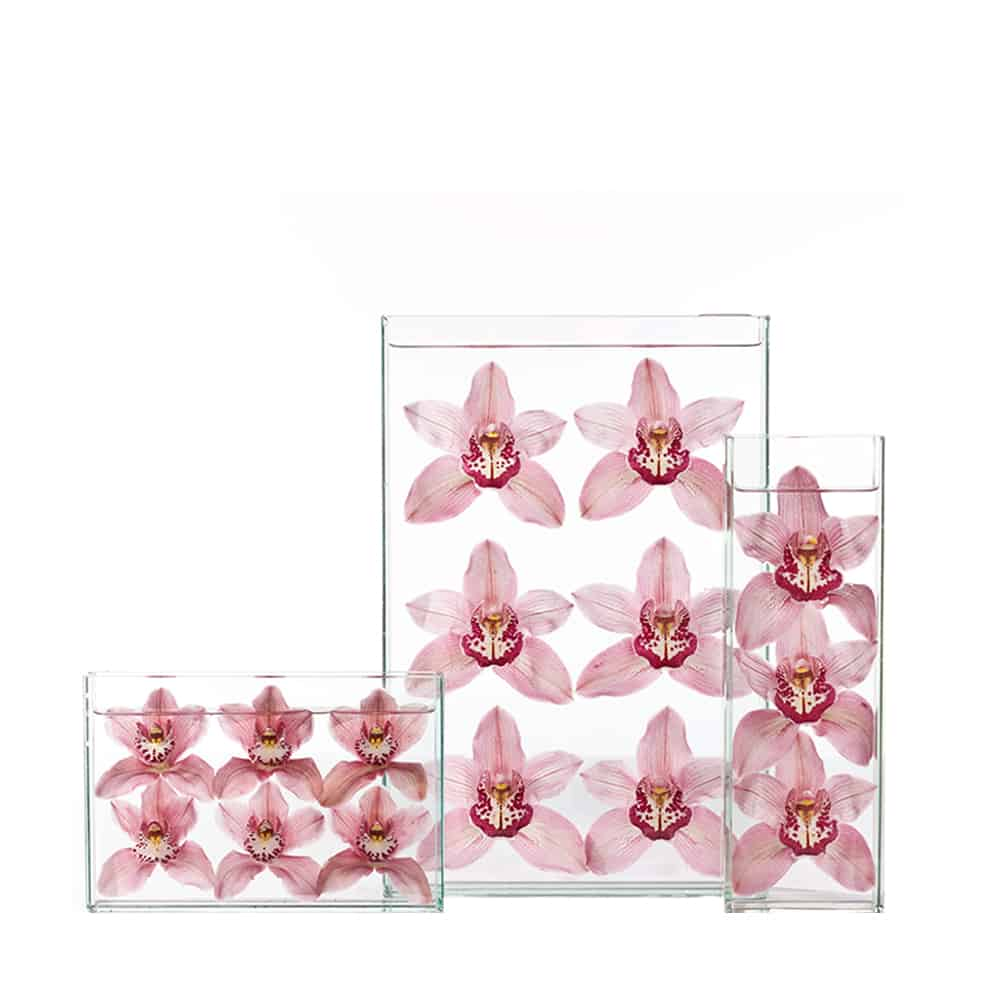 Pink Orchid Waterfall