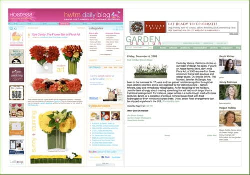Hostess and Garden Design