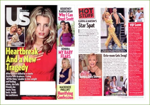 Us weekly Oct 2009