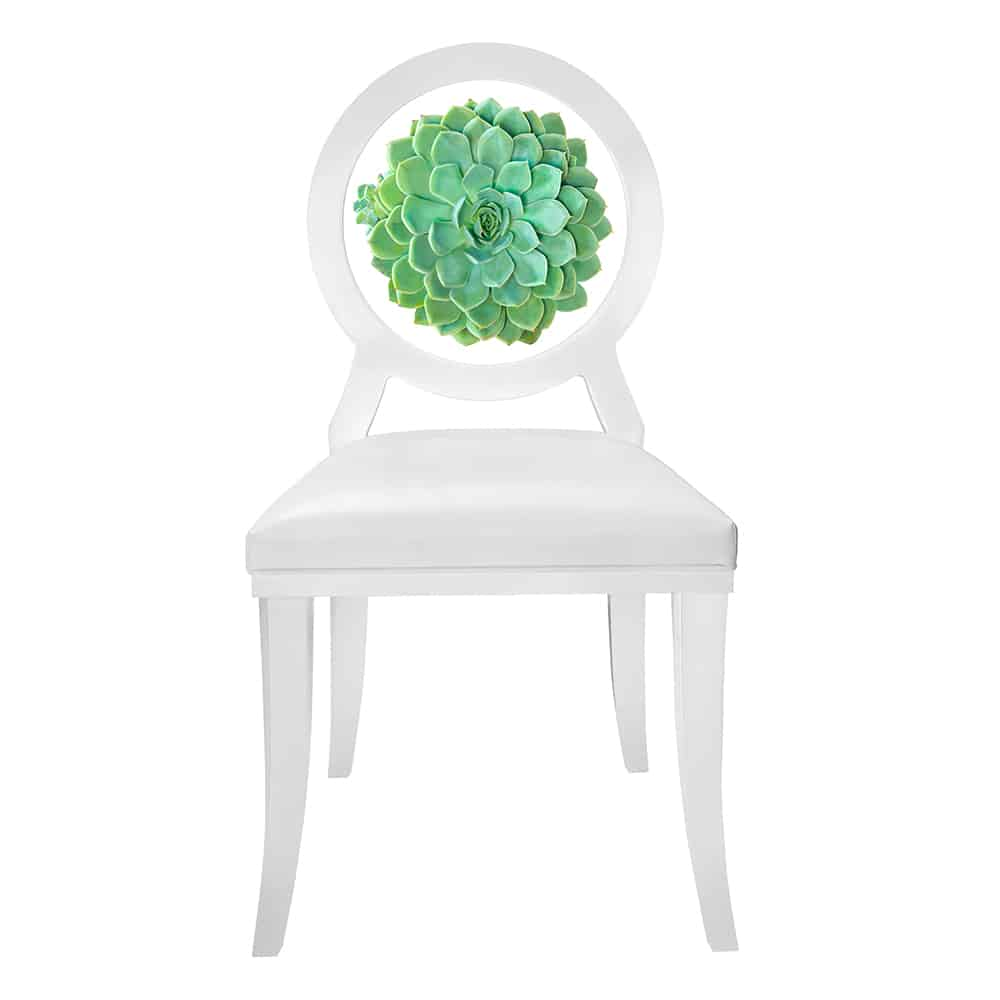 succulent floret chair