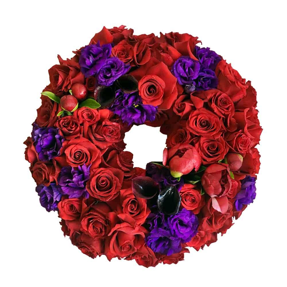 Jewel Bloom Wreath
